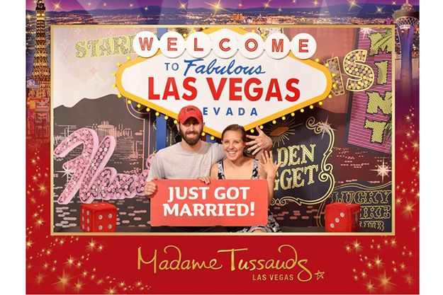 We honeymooned in Vegas (and Denver, Colorado). It was a cross-country road trip!