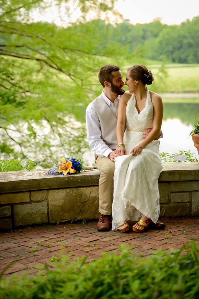 I married the love of my life on May 24th! We were blessed with a gorgeous ceremony and reception at Powell Gardens.