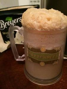 Wonderful, delicious, amazing Butterbeer.