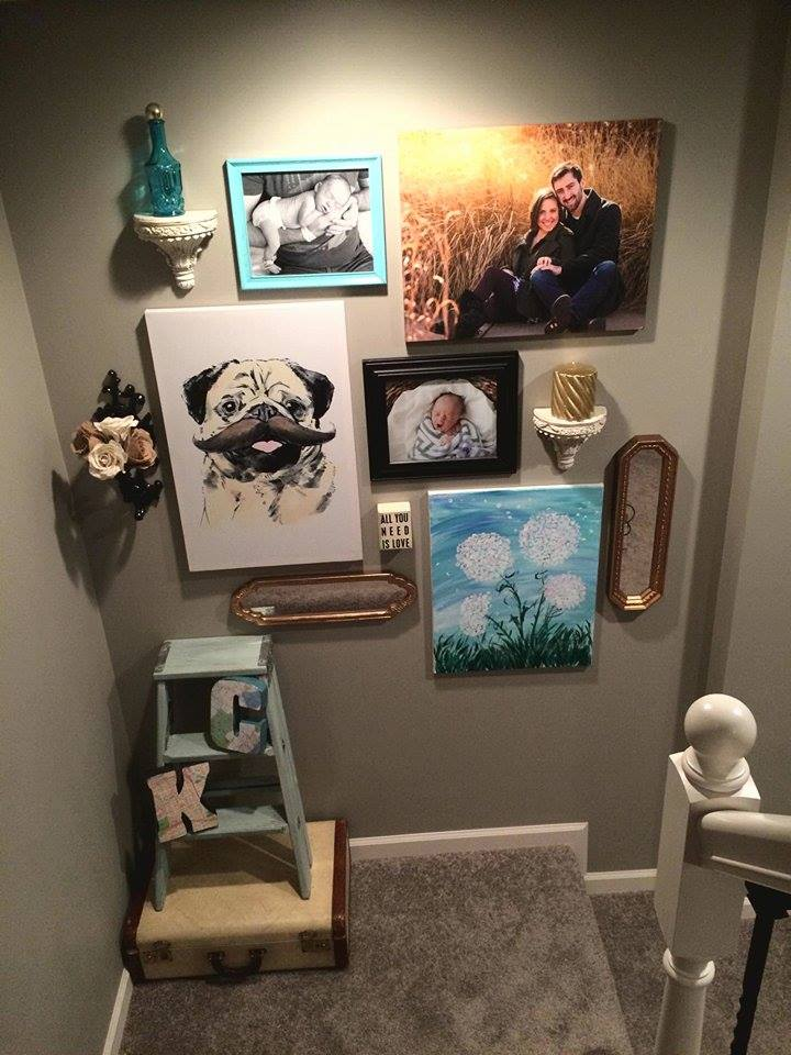 My First Gallery Wall (for less than$25!)