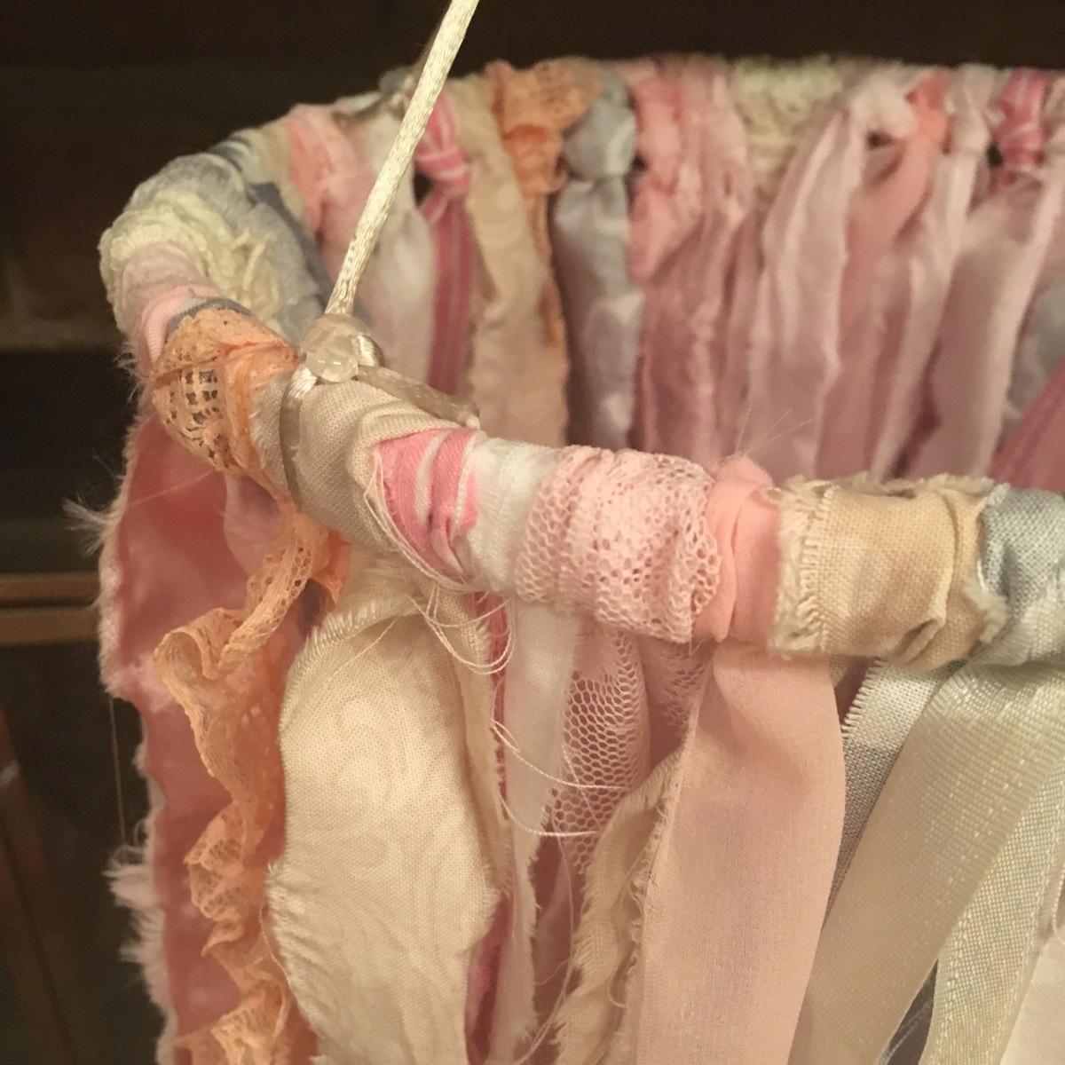 DIY No-Sew Ribbon/Fabric Baby MobileTutorial!